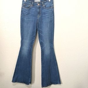 Ella Moss High Rise Flare Jeans, Size 29